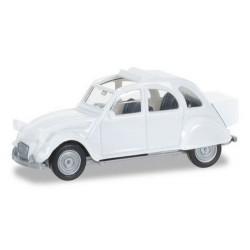 Citroen 2cv Malle arrière blanche
