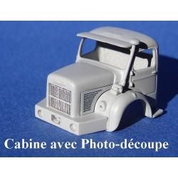 Berliet GBC8 (cabine à monter avec grilles en photo-découpe)