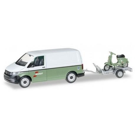 "VW T6 Transporter + remorque Porte Scooter ""Wandt"""