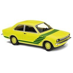 "Opel kadett C 1977 ""Swinger"" jaune citron à marquage vert 'Opel"""