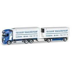 "Volvo FH GL '13 camion + remorque frigo ""Garbe Tranbsport"""
