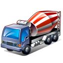 camions Toupie à béton