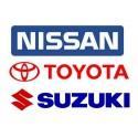 Nissan - Suzuki - Toyota